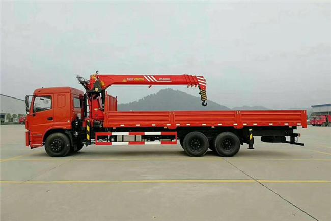 三环后八轮三一12吨随车吊图片展示C
