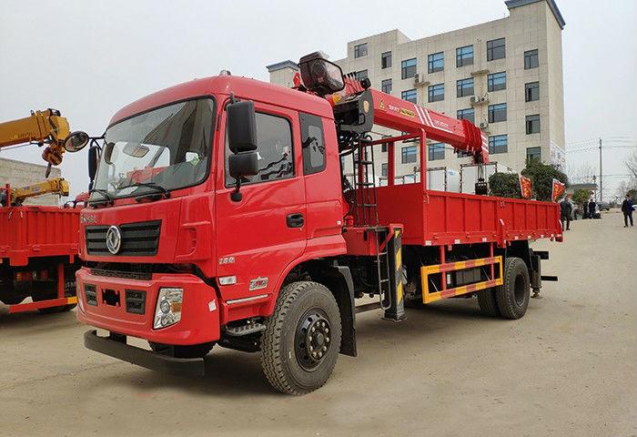 货箱5.8米东风专底三一10吨随车吊图片