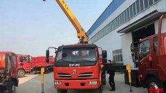 新产品:东风5吨自卸随车吊