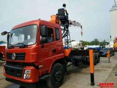 8月份开门红,售出第一台12吨石煤随车吊