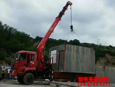 客户回访,东风天锦8吨随车吊效果好到爆炸