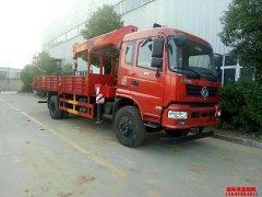 恭喜陈总东风5吨随车吊在上海顺利挂牌