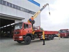 安徽安庆范总购买东风特商12吨随车吊