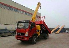 高端车型,带自卸功能的5吨随车吊
