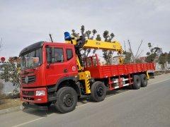 大型随车吊首选品牌,东风T5前四后八12吨随车吊价格¥39.9万