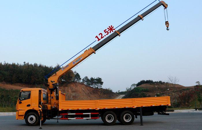 徐工K系列12吨单联泵吊机吊臂长度