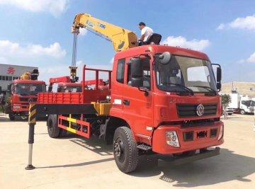 随车吊带自卸功能,徐工6.3吨吊机,货箱5.8米