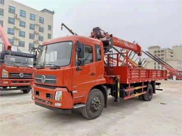 东风天锦三一8吨随车吊价格多少钱?