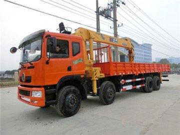 东风前四后八石煤16吨随车吊多少钱一辆?