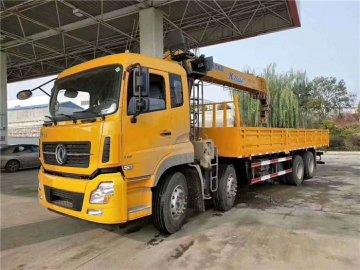 东风天龙前四后八14吨徐工随车吊价格¥50.8万元