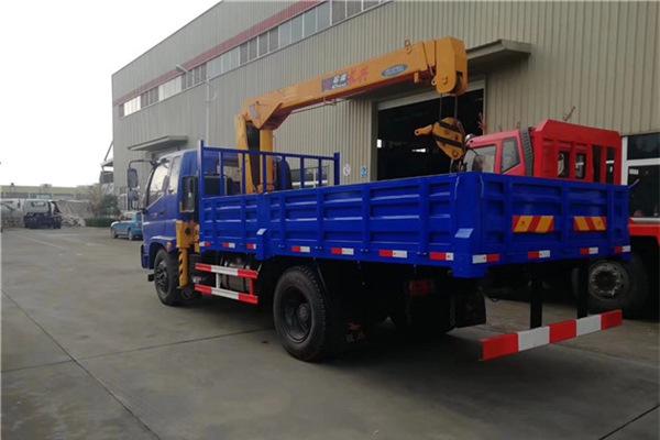福田石煤5吨随车吊展示D