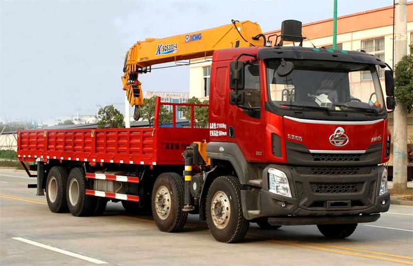 柳汽乘龙H5前四后八16吨随车吊展示B