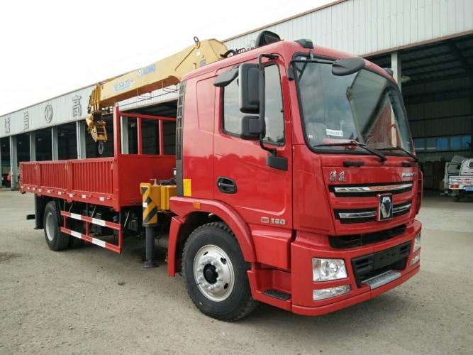 徐工汉风G5一体化8吨随车吊,玉柴200马力,货箱5.8米
