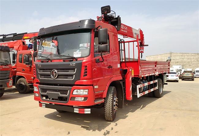 陕汽轩德X6长兴8吨随车吊,高品质,高实用