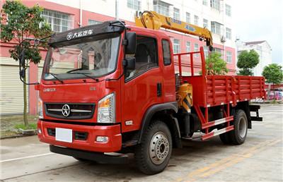 大运170马力蓝牌随车吊,徐工3.2吨吊机,价格¥17.6万元
