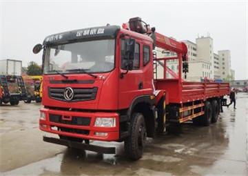 新莆京T5后八轮270马力12吨三一随车吊
