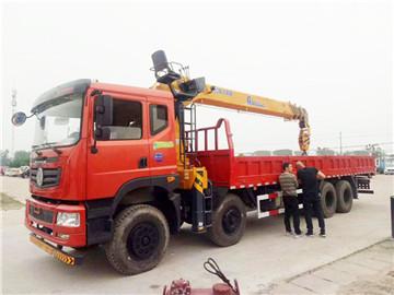 徐工G系列12吨随车吊,大臂更长,性能更好