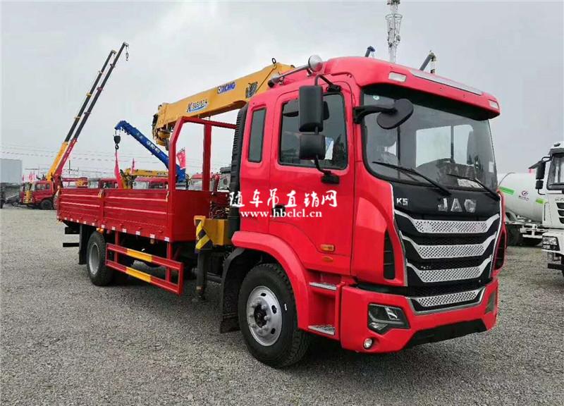 江淮K5潍柴160马力6.3吨徐工SQS157-4随车吊展示B