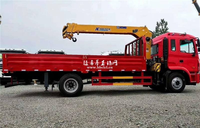 江淮K5潍柴160马力6.3吨徐工SQS157-4随车吊展示D