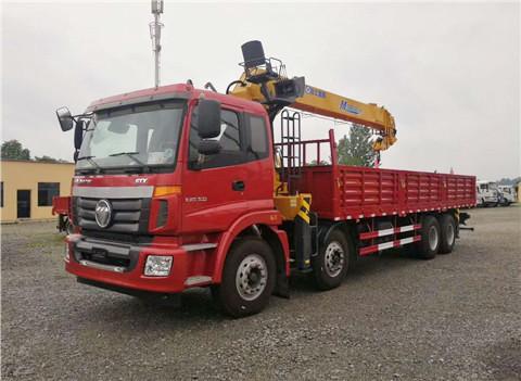 福田欧曼ETX前四后八12吨SQS300-