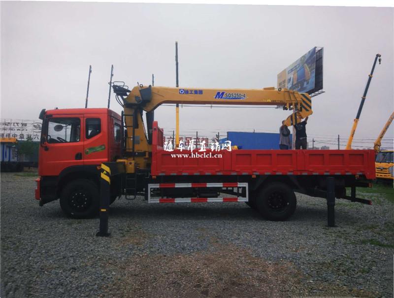 东风特商玉柴200马力徐工10吨SQS250随车吊展示C