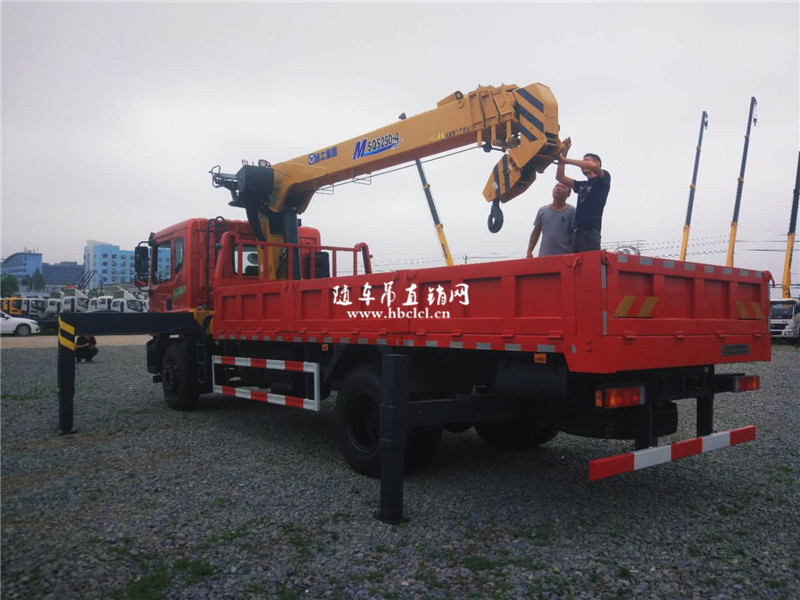 东风特商玉柴200马力徐工10吨SQS250随车吊展示D