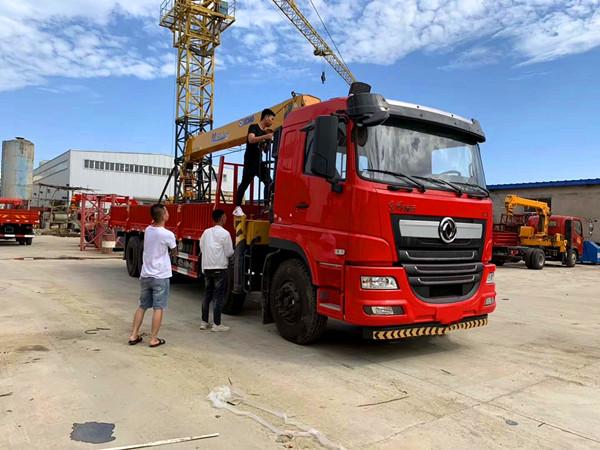 新莆京D7L前四后八14吨徐工双联泵随车吊价格¥49.8万起