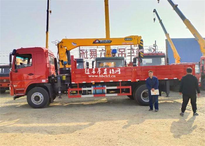 陕汽轩德X6程力8吨随车吊展示C