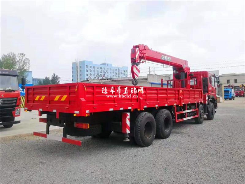 东风T5前四后八8米5程力12吨U型臂随车吊展示C