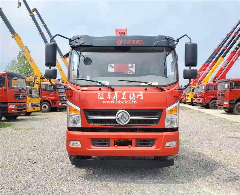 东风5米1货箱160马力程力威力8吨随车吊展示B