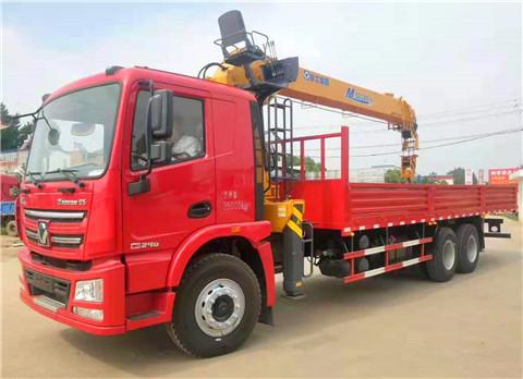 汉风G5后八轮8米5货箱徐工12吨随