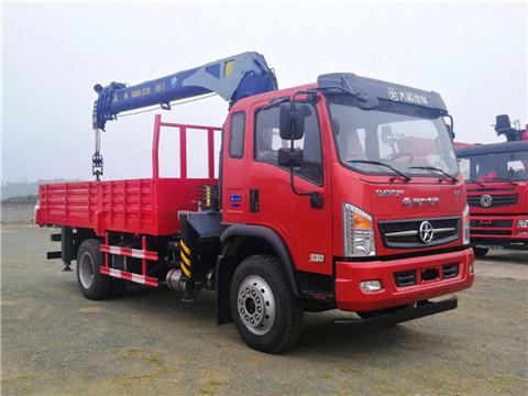 【自卸】大运4米8货箱带自卸功能6.3吨随车吊