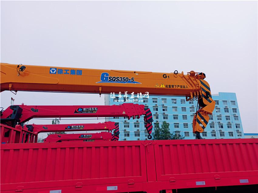 东风柳汽乘龙后八轮徐工G型14吨随车吊图片展示D