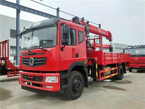 东风华神T5单桥5米7货箱三一8吨