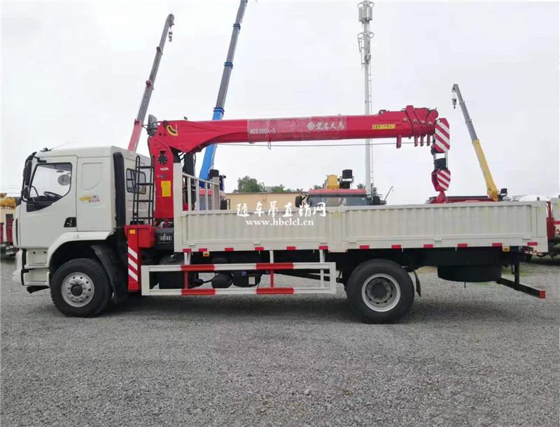 【国六】柳汽乘龙单桥宏昌天马8吨随车吊图片图片展示D