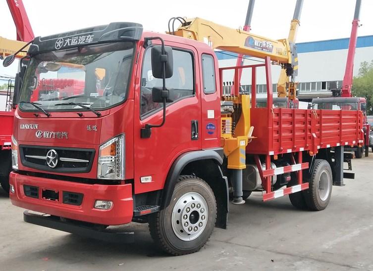 大运3900轴距4米3货箱程力威龙5
