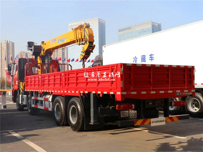 解放J6P前四后八徐工12吨随车吊展示D