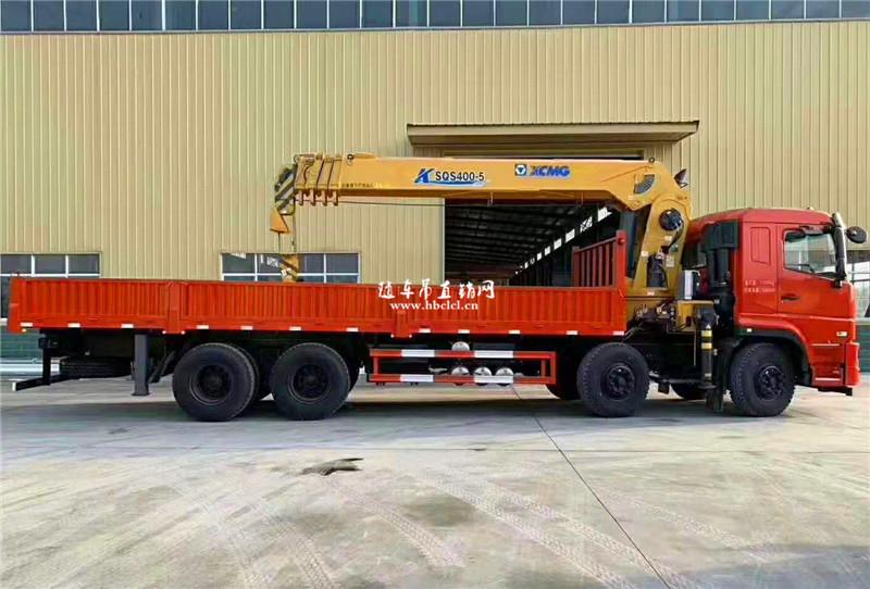 东风畅行前四后八290马力徐工16吨随车吊展示D