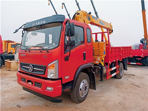 大运运途4米3货箱徐工6.3吨三节