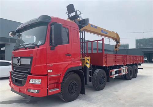 东风畅行前四后八SQS350徐工14吨