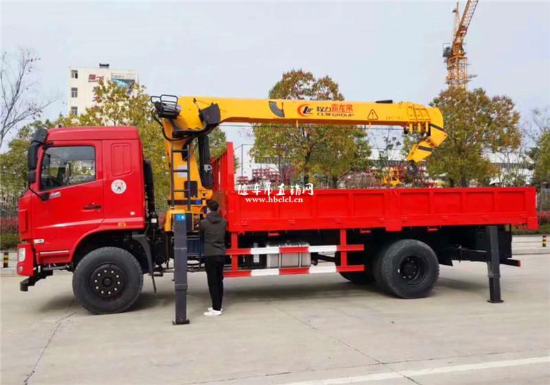 东风华神F5单桥程力霸龙8吨随车吊展示C