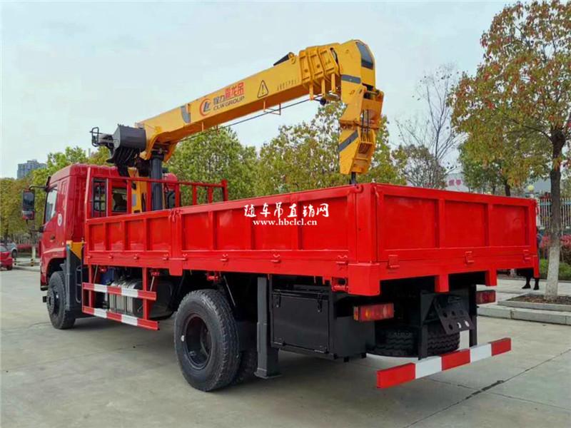 东风华神F5单桥程力霸龙8吨随车吊展示D