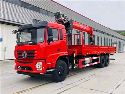 三一14吨SPS35000随车吊起重参数