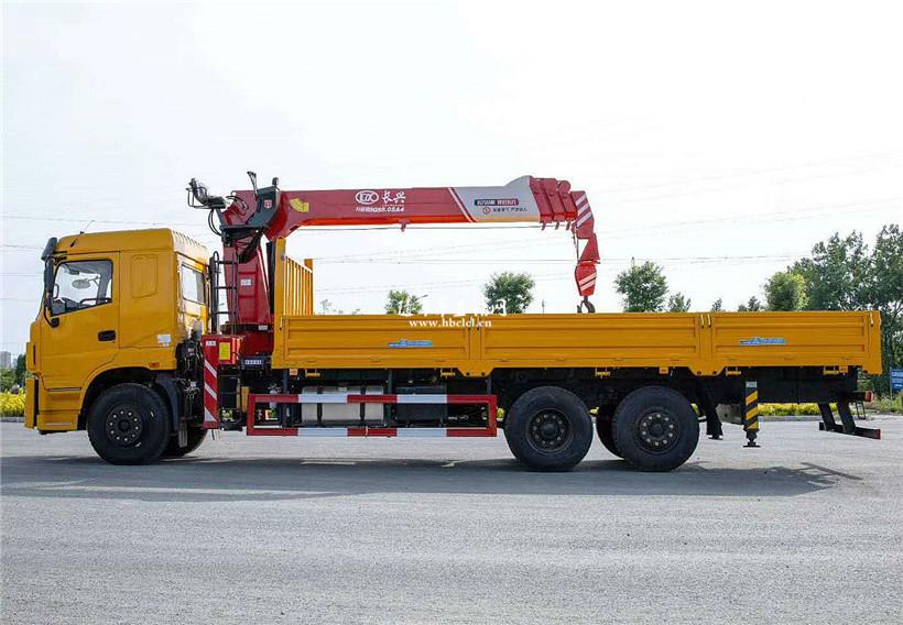三环昊龙后提升桥220马力长兴10吨随车吊展示C