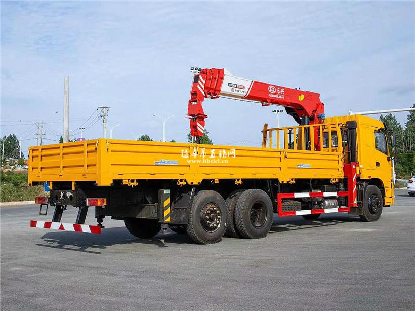 三环昊龙后提升桥220马力长兴10吨随车吊展示D