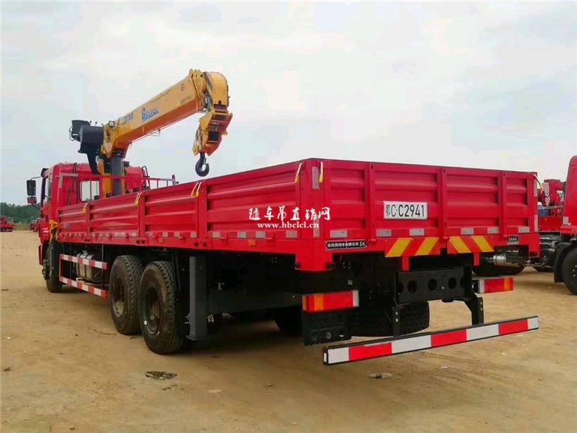 东风锦程后八轮徐工G型12吨随车吊展示D