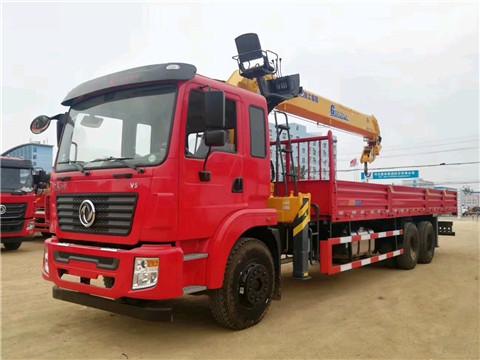 东风锦程后八轮徐工G型12吨随车