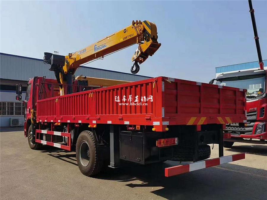 解放J6L大柴220马力徐工G型8吨随车吊图片展示C