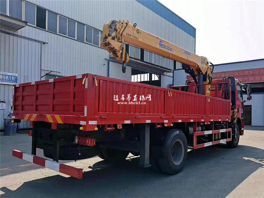 解放J6L大柴220马力徐工G型8吨随车吊图片展示D