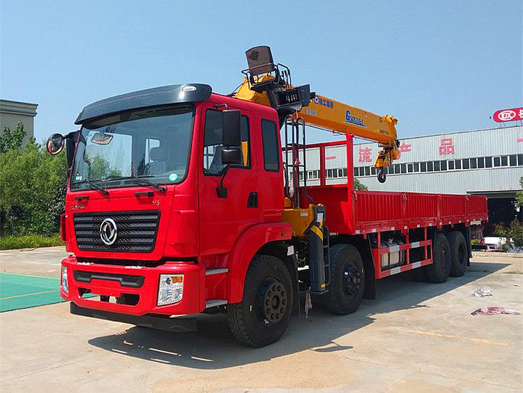 东风锦程前四后八徐工G型14吨随车吊